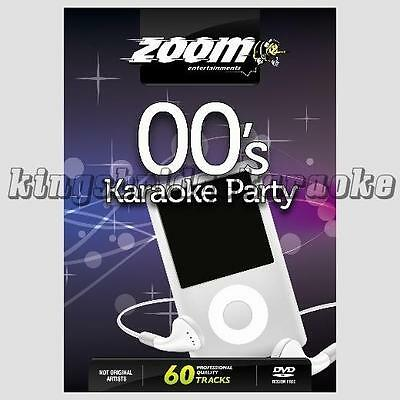 Zoom Karaoke DVD - 00s Superhits 60 Chart Tracks from 2000-2009 For DVD Player