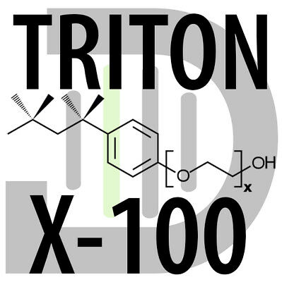Triton X-100 Wetting Agent (Surfactant / Detergent / Octoxinol 9) 100 ml