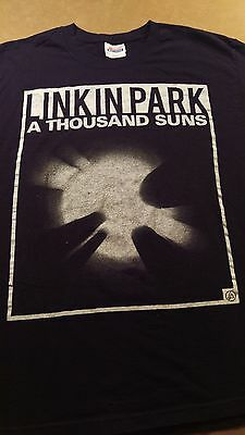 Linkin Park T Shirt Adult L A Thousand Suns