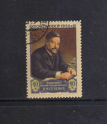 RUSIA-URSS/RUSSIA-USSR 1956 USED SC.1826 Sechenov,physiologist