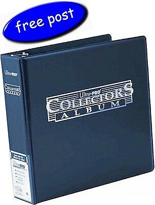 Ultra Pro Collectors Album/Binder 3 Inch 3 Ring Blue - Free UK Post