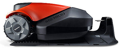 Robomow MS1800 robot robotic lawn mower for up to 1,800sqm black red