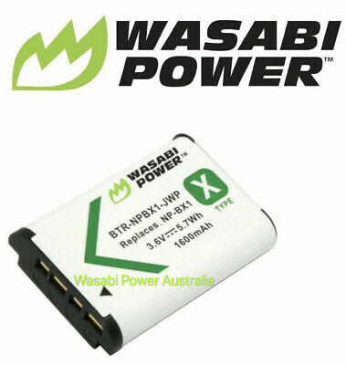 Wasabi Power Battery for Sony NP-BX1 and DSC RX100 II III RX1R RX100M2 RX100M3