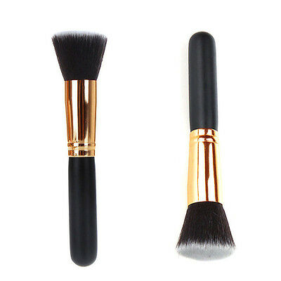 New Makeup Brush Cosmetic Fashion Kabuki Face Nose Powder Foundation Tool Flat