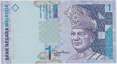 (Wp-104) 1982 Malaysia 1 Ringgit Bank Note Unc (M)