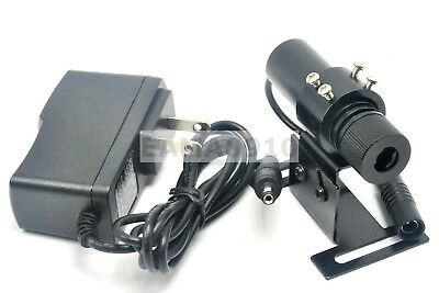 Focusable 850nm 100mW Infrared IR Laser Line Locator Module w/ Adapter & Holder