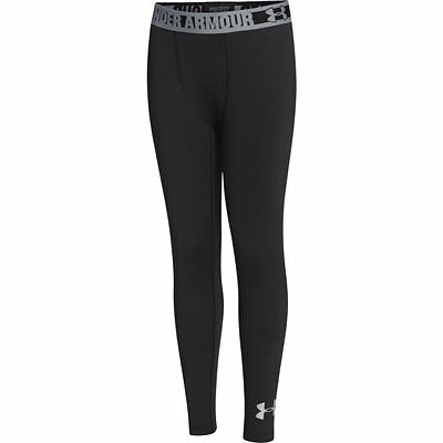 Under Armour Cold Gear Evo Fitted Kids Black Leggings