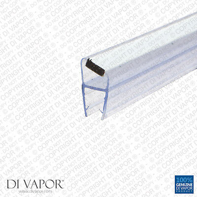Di Vapor (R) Shower Door Magnetic Seal Replacement | 4-6mm/8mm/10mm Glass |