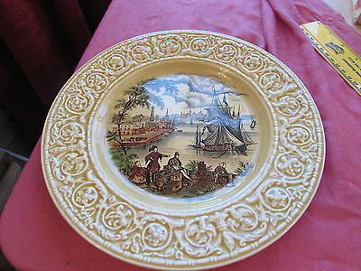 Vintage Safe Harbour Plate Royal Staffordshire Ceramics 10""