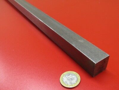 """Square 1018 Steel Bar, 7/8"""" Thick x 7/8"""" Wide x 36"""" Length, 1 Pcs"""
