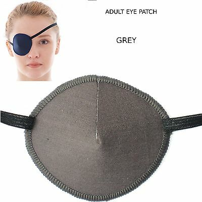 Medical eye patch GREY made from soft washable material