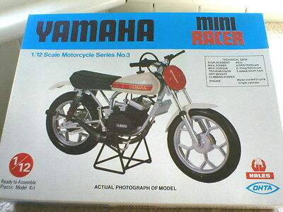 Yamaha Miniracer Motorbike 1/12 scale by OHTA SEIKEI  ref no. 12013 New in box