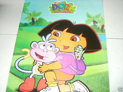 DORA THE EXPLORER & Boots Kneeling 16x20 Poster