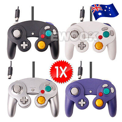 OZ M Dual Shock Gamecube Controller Gamepad for Nintendo Wii GC NGC