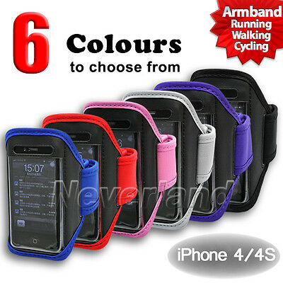For Apple iPod touch 4th iPhone 3G 3GS 4G Running Sports Gym Armband Case Cover