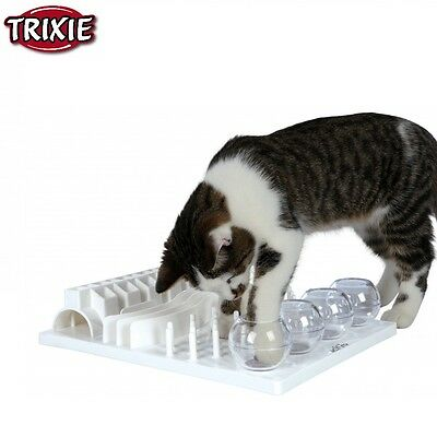 Trixie Pet Products Fun Board 4 Different Games To Peak Cat's Curiosity 4590 New