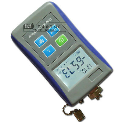 New Fiber Optic Test Digital Handheld Optical Power Meter -70`+10 dBm FC Adaptor