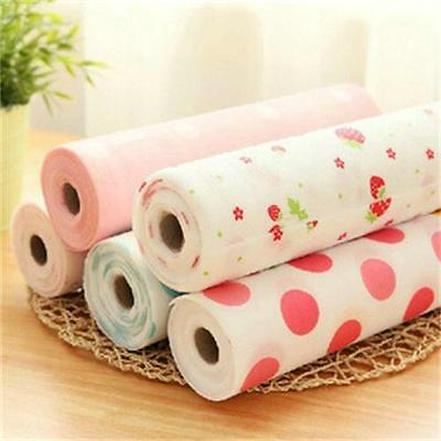 Anti Slip Kitchen Cupboard Liners Mat Roll Drawer Liner Table Placemat 30x300CM