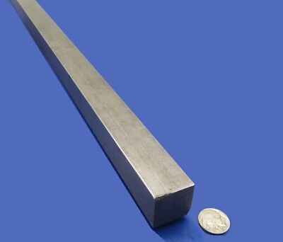 "1018 Square Steel Bar, 1 1/8"" Thick x 1 1/8"" Wide x 36"" Length"
