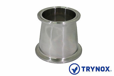 """Tri Clamp Sanitary Stainless Steel 304 4"""" x 3'' Concentric Reducer Trynox"""