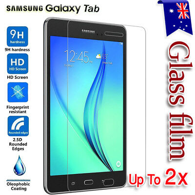 """Tempered Glass Screen Protector for Samsung Galaxy Tab A 7.0 8.0 9.7 10.1"""" inch"""