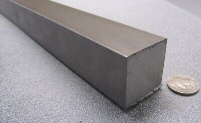 """Square 1018 Steel Bar, 1 3/8"""" Thick x 1 3/8"""" Wide x 36"""" Length"""