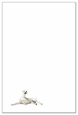 Whippet Dog Breed Stationery (6 flat correspondence cards with envelopes)