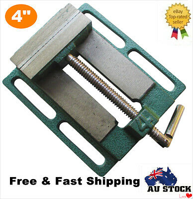 """Heavy Duty 4""""/100MM DRILL PRESS VICE Miling Clamp Work Bench Vise Workshop Tool"""