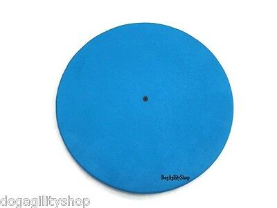 "Dog Agility Equipment 22"" Wobble Board - Blue (watch product video in listing!)"