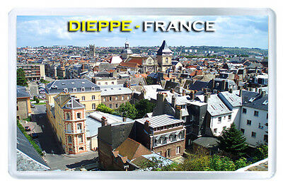 Dieppe France Fridge Magnet Souvenir Iman Nevera