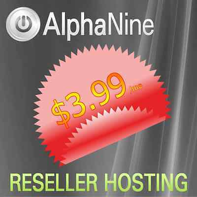 UNLIMITED ! Reseller Hosting cPanel WHM Softaculous with SiteBuilder - Monthly !