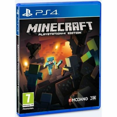 Minecraft (PS4) NEW & SEALED - Fast Dispatch - Free UK P&P