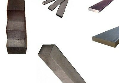 """Square 1018 Steel Bar, 2 1/2"""" Thick x 2 1/2"""" Wide x 36"""" Length, 1 Pcs"""