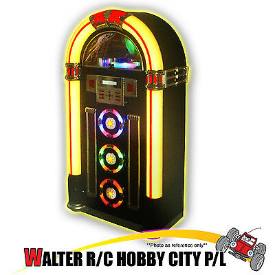 JUKEBOX Classic 7 Color LED /W Bluetooth, CD Player, AM/FM Radio, USB & SD Slot