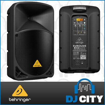 B112D-MP3 Behringer Active 12 Inch Speaker 1000watt with MP3