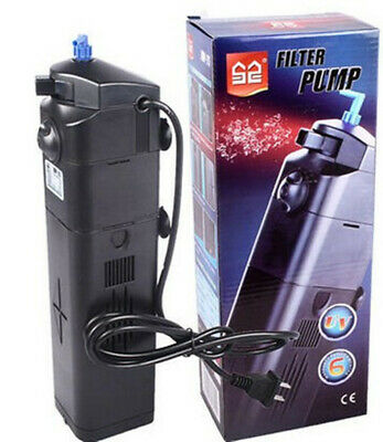 13W SunSun UV Sterilizer Multi Function Filter Air Pump 800 L/H Vivavium Aquafar