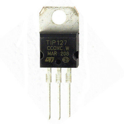 TIP127 PNP Darlington Silicon Power Transistor - Pack of 2 or 5