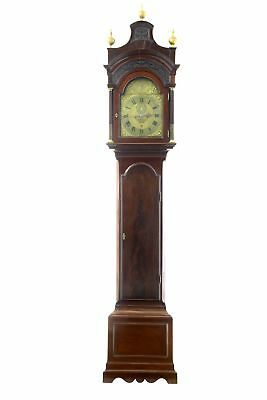 18Th Century Mahogany Longcase Grandfather Clock Conyers Dunlop London