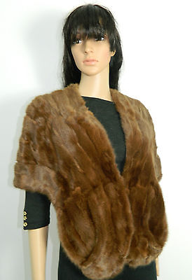 RUSSIAN SQUIRREL FUR  COLLAR STOLE SCARF CAP n17