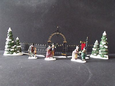 "Dept 56 Dickens Vlge ""christmas Carol Revisited Holiday Trimming Set""-#58319-Nib"