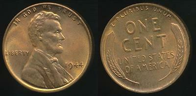 United States, 1944 One Cent, Lincoln Wheat  - Uncirculated