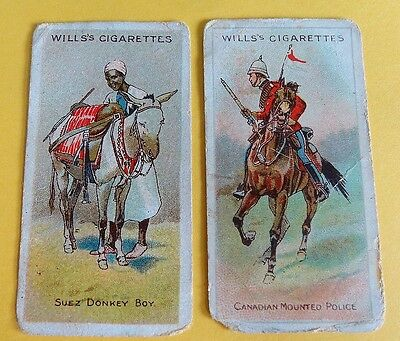 Cigarette Card WD & HO Wills Riders of The World Pennant 1913 Poor Cond 95