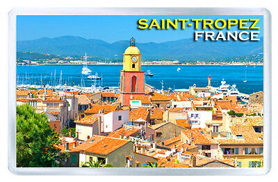 Saint-Tropez France Fridge Magnet Souvenir Iman Nevera