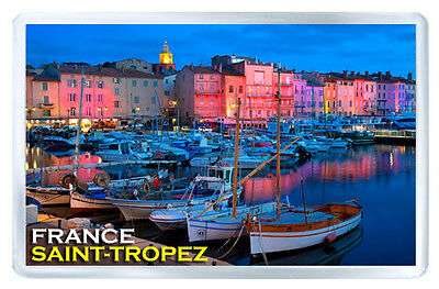 Saint-Tropez France Mod2 Fridge Magnet Souvenir Iman Nevera