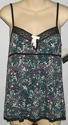 New KENSIE Size S Teal Multi-Print Camisole