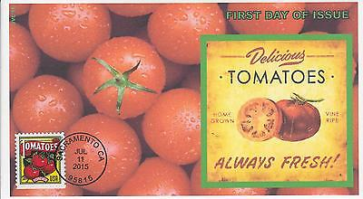 Jvc Cachets-2015 Summer Harvest  Issue Fdc First Day Covers Topical Fruit #1