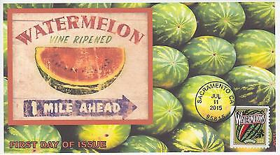 Jvc Cachets-2015 Summer Harvest  Issue Fdc First Day Covers Topical Fruit #3