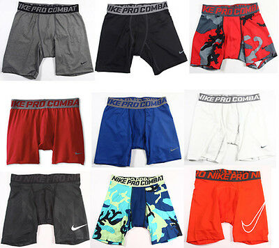 BOYS YOUTH Nike Pro Combat Base Layer Compression Shorts Jordan Training S,M,L