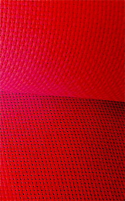 Christmas Red 14 count Zweigart   Aida 50 x 50 cm