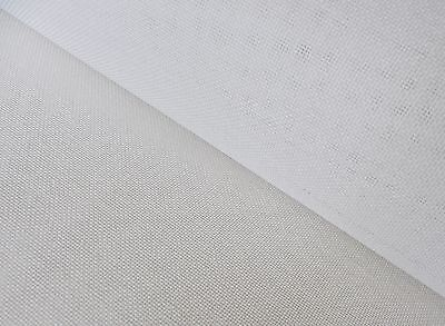 White Tapestry Canvas Etamine 22 HPI  30cm x 25cm  for dolls house petite point